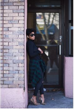 Plaid chic