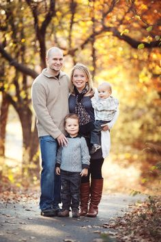 posing families of 4 - Google Search