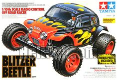 Tamiya Blitzer Beetle (1/10 Kit) - TAMIYA-CAR-58502-BLITZER-BEETLE