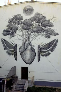 Street Art News: Alexis Diaz unveils a new mural in Lodz, Poland