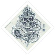 Diamond Skull & Snake