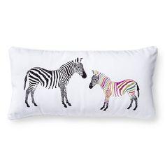 Mudhut™ Isela Zebra Decorative Pillow - Multicolored