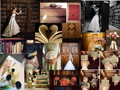 Library theme #1: PANTONE WEDDING Styleboard : The Dessy Group