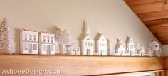 Be Different...Act Normal: Paper House Village [Digital Cutting Files]