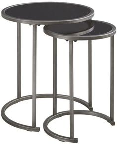 Ashley Marxim Round Nesting Tables ASHLEY Furniture Homestore Atrium Dartmouth NS