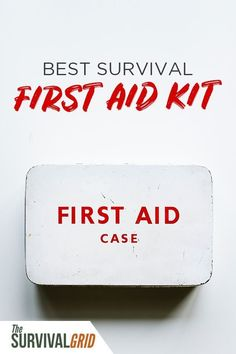 Best survival first aid kit for emergency preparedness and SHTF situations. Survival First Aid Kit, Survival Prepping, Survival Skills, Survival Gear, Survival Hacks, Urban Survival, Survival Videos, Apocalypse Survival, Survival Supplies
