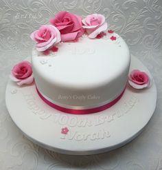 Special Birthday, Pretty In Pink, Crafty, Facebook, Rose, Desserts, Tailgate Desserts, Dessert, Roses