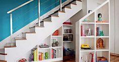 Muebles para Almacenamiento debajo de las Escaleras . Queremos utilizar el espacio bajo la escalera al máximo, es útil para las ideas de alm...