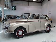 DANIEL SCHMITT & CO PRESENTS:  1959 #MORRIS MINOR 1000 CONVERTIBLE  WWW.SCHMITT.COM 314.291.7000 #classiccars