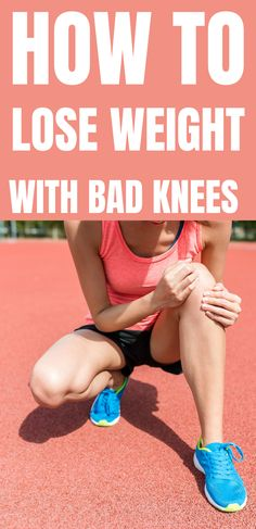 To lose weight with bad knees, combine a proper diet plan with the right type of low-impact exercises. Besides, the good news is that you can also lose weight without exercise. Best Weight Loss Foods, Easy Weight Loss, Bad Knees, Water Aerobics, High Fiber Foods, Low Impact Workout, Knee Injury, Proper Diet, High Protein Recipes