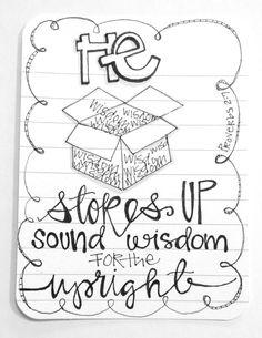 Proverbs Doodle / Sue Carroll