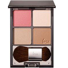 IPSA Face Color Designing Palette — румяна и хайлайтер • Декоративная косметика • MelonPanda Beauty Shop - интернет магазин японской косметики