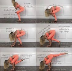Crane Pose Yoga, Flying Pigeon Pose, Partner Yoga, Advanced Yoga, Yoga Poses For Beginners, Yoga Routine, Yoga Everyday, Yoga Lifestyle, Yoga Sequences