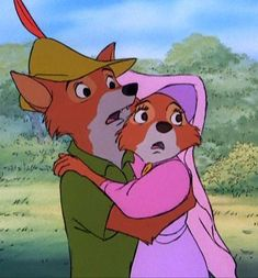 *ROBIN HOOD & MAID MARIAN ~ Robin Hood, 1973 My favorite movie ever!!
