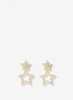 Brinco estrela - Bijutaria - Acessórios - Uterqüe Portugal