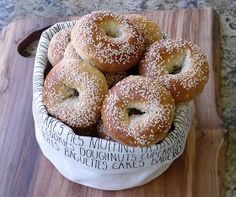 Thibeault's Table: Bake Day - Homemade Bagels