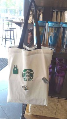 Bag Tote Starbucks New Canvas Limited Coffee Edition Lunch 2016 Handbag Reusable Ebay Bags Starbucks Tote Bag