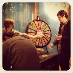 We have a winner! Spin the wheel at #bestofstl with @slso! Buy this Prize Wheel at http://PrizeWheel.com/products/tabletop-prize-wheels/tabletop-black-clicker-prize-wheel-18-slot/.