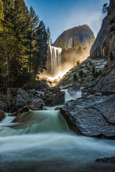 Below the Vernon Falls - Yosemite National Park - Yosemite Valley - California - USA | Please like, share, or repin. Thanks!' | For more Beautiful PicturZ : http://beautiful-picturz.tumblr.com/