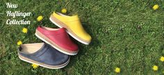 NEW ARRIVALS Haflinger New leather clogs in beautiful, bright colours. Spring must haves!Browse all