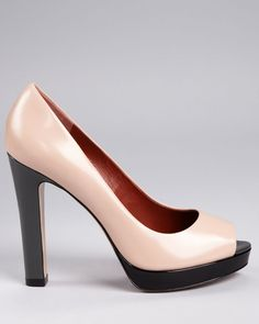 Marc by Marc Jacobs Peep Toe Pumps LOVE these!