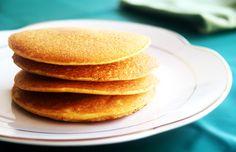Receita panqueca americana de milho sem gluten