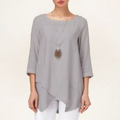 65f372d0deb140 Buy Phase Eight Ava Textured Linen Blend Top