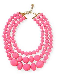 Try this triple strand necklace on for size!