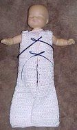 Preemie Gown Pattern (could easily be converted for larger size)