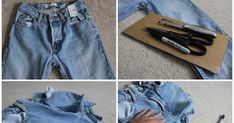 Here's a quick and easy DIY perfect for summer I mentioned in my last post : distressed jean shorts! I scored these great jeans for...