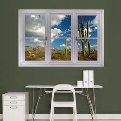 Desert Cactus: Instant Window