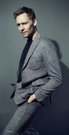 Tom Hiddleston. Are you staring at me, little girl?