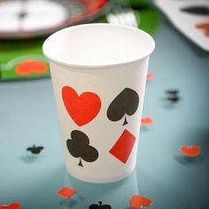 Gobelets Jetables Casino - http://www.instemporel.com/s/7864_184085_lot-de-10-gobelets-casino