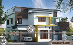 Home Plan in Kerala Style Cheap Double Storey Homes Collections Kerala Traditional House, Traditional Style Homes, Traditional House Plans, Four Bedroom House Plans, Ranch House Plans, House Floor Plans, Beautiful House Plans, Beautiful Home Designs, Modern House Plans