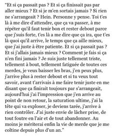 T'aurais dû y penser avant abruti Sad Quotes, Best Quotes, Love Quotes, The Words, Deep Texts, Quote Citation, French Quotes, Bad Mood, Sentences