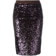 By Malene Birger Sequin Kiala Skirt ($440) ❤ liked on Polyvore ...