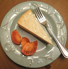 The Perfect Cheesecake, creamy silky smooth texture.