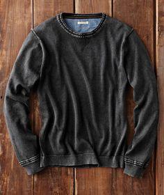 Iconoclastic Sweater-Carbon 2 Cobalt