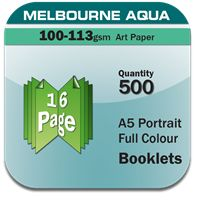 Full Colour Booklets Printing In Melbourne