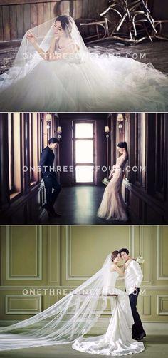 Korean Studio Pre-Wedding Photography: M Company - European Dream, Vintage, Elegant Fine Art Wedding Photography, Wedding Photography Inspiration, Korean Photoshoot, Wedding Poses, Wedding Dresses, Real Couples, Photo Sessions, Dream Wedding, Bride
