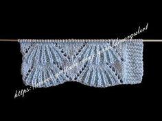 Türkçe Anlatımlı Süpürge Modeli - YouTube Knitting Stiches, Knitting Videos, Hand Knitting, Knitting Tutorials, Knitting Designs, Knitting Patterns, Baby Dress, Le Point, Knit Edge