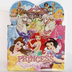 Princess Heart Coloring Book