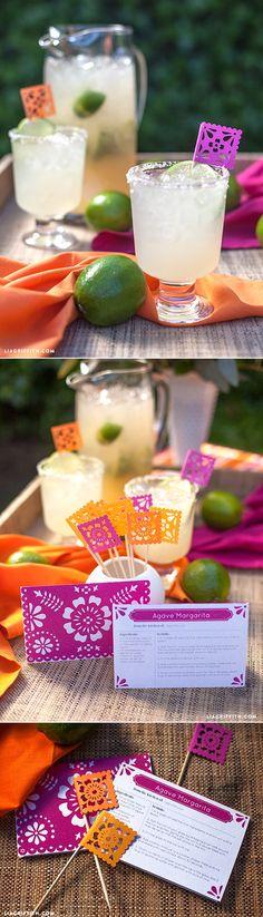 #margaritarecipe #agaverecipe at www.LiaGriffith.com