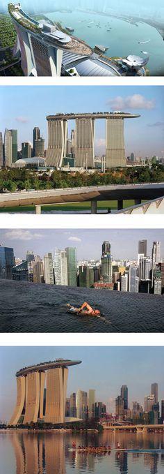 Marina Bay Sands, Moshe Safdie, Singapour