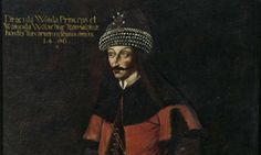 The only total body picture of Vlad Tepes III, inspiration for Count Dracula, to be seen at Burg Forchtenstein (Forchtenstein Castle), Burgenland, Austria