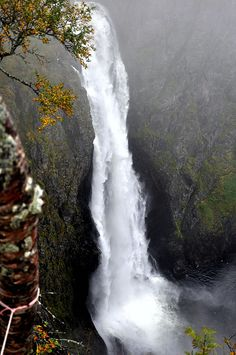 Vøringsfossen Possibly the most well known waterfall in Norway.