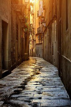 Barcelona street by carlos gotay
