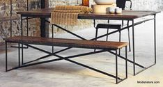 Roost Recycled Wood Bench(s) and/or Dining Table – Modish Store