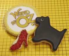Wizard of Oz party theme cookie favors