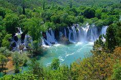 Kravice waterfalls, 40km from Mostar